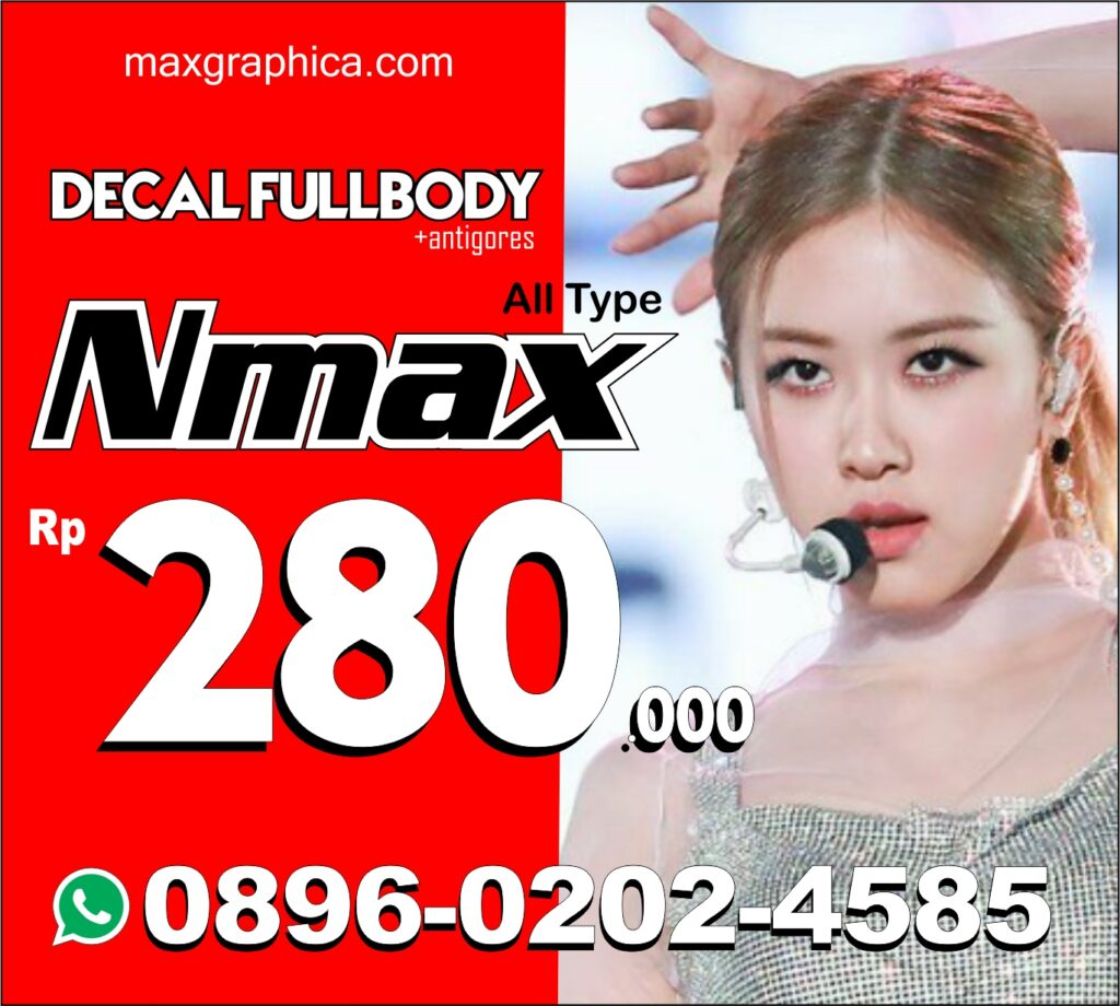decal nmax fullbody murah maxgraphica